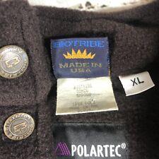 Vintage Biotribe Polartec Fleece 80s 90s Made in The USA Bio Tribe