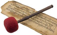 Mailloche Maillet Feutre baton Ø 70mm L 29 cm pour bol chantant Gong 9581 S1D