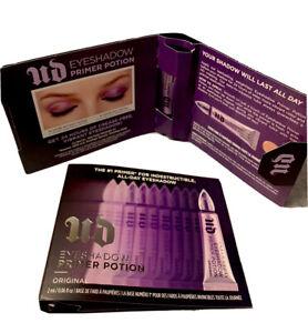 NEW 2PC Urban Decay Eyeshadow Primer Potion The Orginal 2x0.06oz/2ml Travel