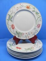 "Villeroy Boch Albertina  8 1/2"" Salad Plates Set Of 6 Plates Made In Germany GUC"