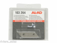 AL-KO vera e propria sostituzione TRITURATORE BLADE & Screw Pack for ALKO ELECTRIC TRITURATORE