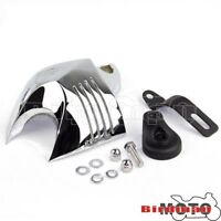 Chrome V-Shield Horn Cover For Harley Davidson Big Twins Evo 1992-12 Twin Cam 96