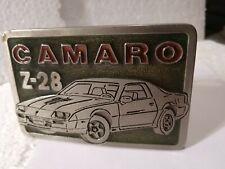 VINTAGE 1980'S CHEVY CAMARO Z-28 BELT BUCKLE ! 1982 83 84 85 86 87 89