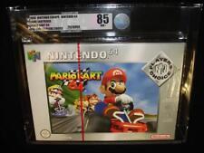 MARIO KART 64 PLAYERS CHOICE Nintendo N64 sealed graded 85 NM+ red strip pal