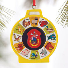 Dept. 56 Christmas Fisher-Price See N Say Ornament Retro Holiday Tree Decor