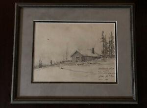 Thomas Kinkade Original Sketch (Rare)