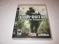 Call of Duty 4: Modern Warfare (Playstation PS3) Complete Nr Mint!
