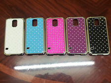 Diamond Bling Glitter Chrome Hard Case cover for Samsung Galaxy Mobile Phones