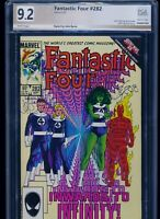 Fantastic Four #282! PGX (Not CGC SS) 9.2! Signed by Byrne! SEE PICS AND SCANS!