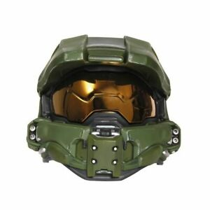 HALO Master Chief Child Light-Up Deluxe Battle Damaged Helmet | Disguise 24441