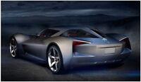 Corvette Stingray Chevy 18 Chevrolet 24 Series 1 Car Model Gift For Men zr1 z06