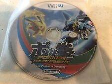 Pokkén Tournament (Nintendo Wii U, 2016) GAME DISK ONLY NICE SHAPE NES HQ