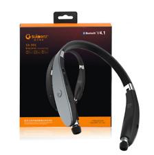 Wireless Bluetooth V4.1 Foldable Retractable Headphones Stereo Sport Earphones