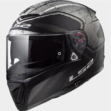 CASCO MOTO INTEGRALE LS2 FF390 BREAKER BOLD MATT BLACK TITANIUM 103902507 TG. S