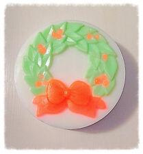 Organic Handmade Christmas Wreathe Wreath Winter Snow Soap