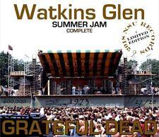 GRATEFUL DEAD  LIVE WATKINS GLENN SOUNDCHECK + SHOW 1973 JULY 27 -28  LTD # 6 CD