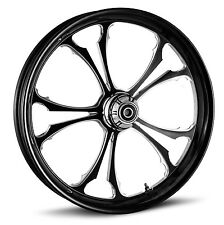 "DNA ""C-2"" CONTRAST CUT FORGED BILLET WHEEL 21"" X 3.25"" FRONT HARLEY SOFTAIL"