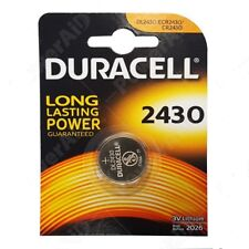 DURACELL CR2430 BATTERIA A LITIO A BOTTONE 3V DL2430 / K2430L SCAD 2026