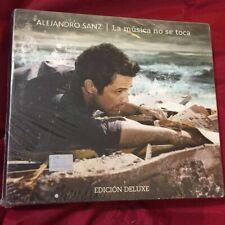 ALEJANDRO SANZ LA MUSICA NO SE TOCA EDICION DELUXE CD + DVD SET NEW