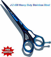 Professional Hairdressing Barber Salon Hair Titanium Coated Scissors shears 5.5