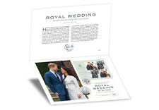 Royal Wedding UK Coin Cover new £5 coin & Royal Mail brand new stamps Limit 500