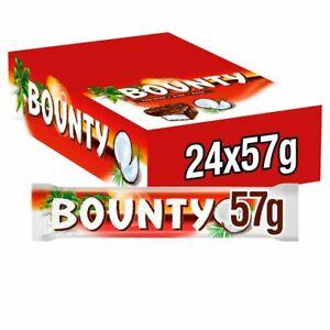 Bounty Dark 24 x 57g bars Full Case Free Delivery Cheapest On eBay Only £16.99