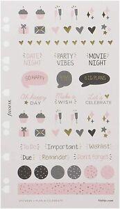 Filofax Confetti Stickers Multifit (Personal & A5) Refill 132701