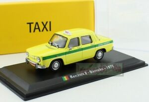 1:43 Scale Renault 8 Bamako 1970 TAXI Diecast