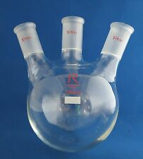 Reliance Round Bottom Flask 1000mL 3 Neck  24/40 Angled
