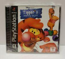 Tigger's Honey Hunt (Playstation 1 PS1, 2000) Disney Brand New Factory Sealed