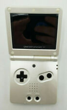 Nintendo Game Boy Advance SP AGS-101 Pearl White Tested Works Has Scratches
