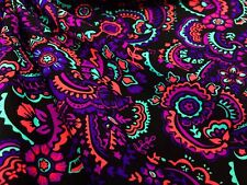Nice Flowers Water repelent  4 Way Stretch Nylon Lycra Spandex fabric By Yard