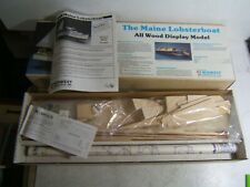 Midwest Products 1/16 The Maine Lobsterboat Wooden Model Lobster Boat Ship Kit