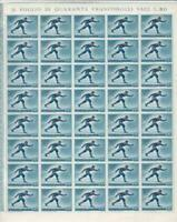 San Marino  olympics 1955 winter sports mint never hinged  stamp sheet R19902