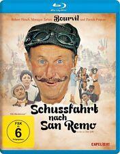 SCHUSSFAHRT NACH SAN REMO (Bourvil, Robert Hirsch) Blu-ray Disc NEU+OVP