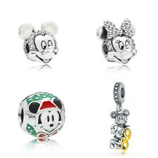 SALE 4pcs Various Silver Plated Charms to fit European Bracelets