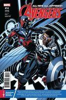 All New All Different Avengers #14 Prostate Cancer Awareness Variant Marvel New