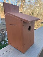 Blue Bird Wooden Birdhouse