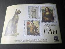 FRANCE 1999 BLOC 23, ART, DE VINCI, TABLEAU, PHILEXFRANCE, neuf**, VF MNH STAMPS