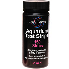 JNW Direct 7 in 1 Aquarium Test Strips, Best Kit for Water Testing 150 Strip