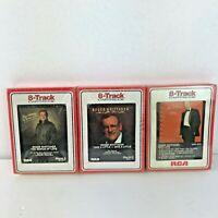 Roger Whittaker 8-Track Cartridges Set Of 3 New Sealed