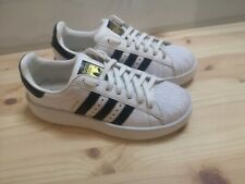 Adidas superstar Bold platform white black leather shell toe trainers size 5.5