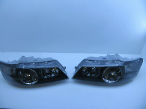 HSV VY BERLINA CALAIS BLACK HEADLIGHTS Projector GENUINE LEFT RIGHT SIDE PAIR