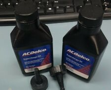 (2) Genuine GM 12345982 Supercharger Oil Bottles 8 ounce Eaton change kit