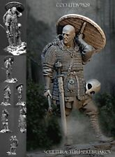 Masterclass 'Heathen' Bald Viking 75mm Unpainted Resin kit SEREBRYAKOV