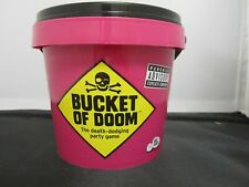 Big Potato Games Bucket of Doom Death Defying Adult Party Game Pink