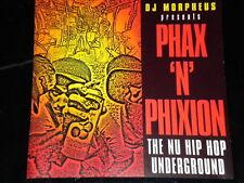 DJ MORPHEUS - PHAX 'N' PHiXiON NU HIP HOP UNDERGROUND - CD COMP 1998 UNMiXED