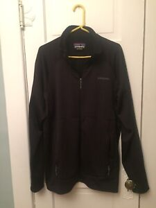 Men's Patagonia R1 jacket XL black regulator Waffle Fleece Black