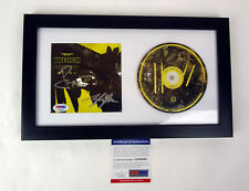 Twenty One Pilots Band Signed Autograph Trench Framed CD PSA/DNA COA