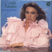 "VIOLA VALENTINO - Arriva - VINYL 7"" 45 LP 1982 NEAR MINT COVER VG+ CONDITION"